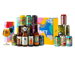 Pack de cervezas artesanales - Offre Coffret Dégustation Bière Craft + Assortiment Yes We Can