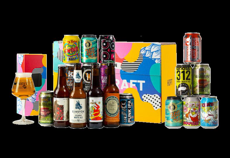 Cofanetto di birra - Offre Coffret Dégustation Bière Craft + Assortiment Yes We Can