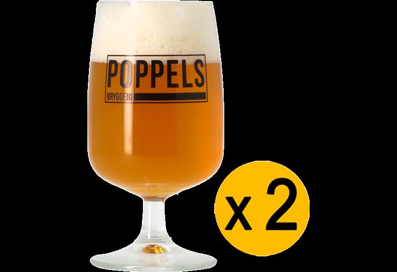 Biergläser - Verre Poppels 25 cl