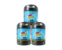 Fûts de bière - Pack 3 fûts 6L Tiny Rebel Clwb Tropicana