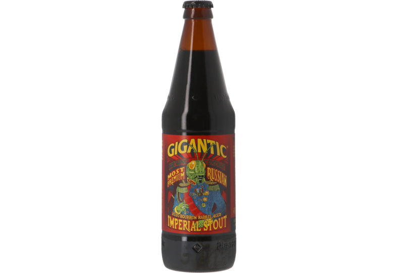 Bouteilles - Gigantic Most Most Premium Russian Imperial Stout Bourbon Barrel Aged 2019