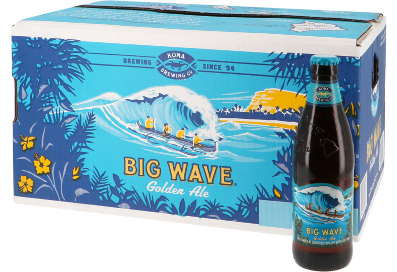 Big packs - Big Pack Kona Big Wave Golden Ale - 24 bières