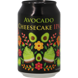 Bottled beer - La Débauche Avocado Cheese Cake