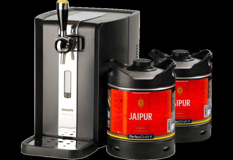 Fûts de bière - Pack Tireuse Perfectdraft 2 fûts Jaipur