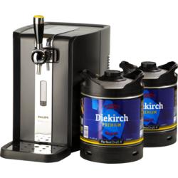 Fûts de bière - Pack Tireuse Perfectdraft 2 fûts Diekirch Premium