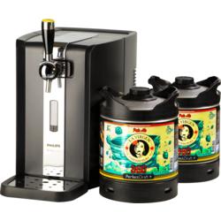 Fûts de bière - Pack Tireuse Perfectdraft 2 fûts La Virgen 360