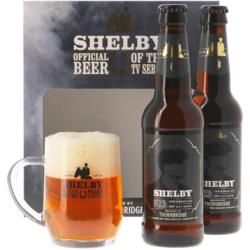 Gåvoboxar med öl och glas - Thornbridge Shelby Gåvopaket