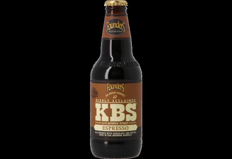 Bouteilles - Founders KBS Espresso - Bourbon Barrel Aged