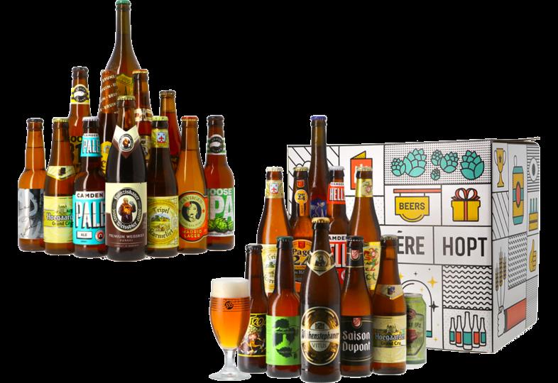 Accessoires et cadeaux - Pack Assortiment Meilleures Ventes + Coffret Bières Blondes