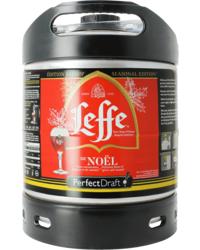 Fûts de bière - Fût 6L Leffe de Noël