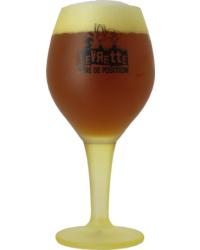Bicchiere - Levrette Bicchiere giallo - 50 cl