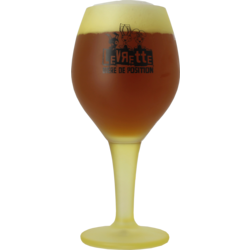 Beer glasses - Levrette Jaune 50cl glass