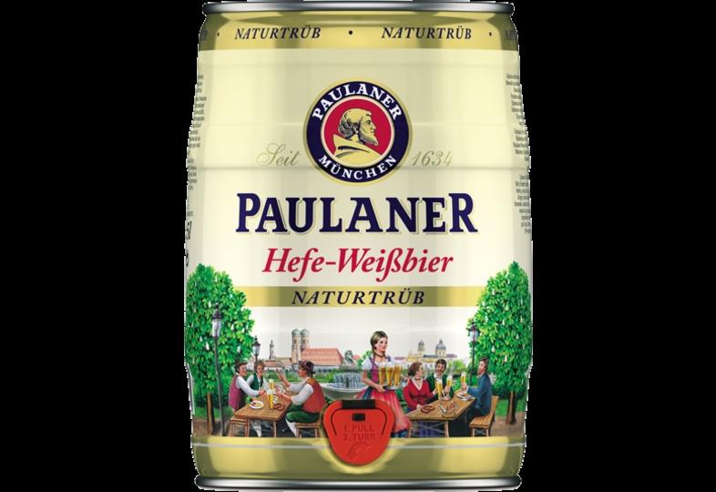 Kegs - Paulaner Hefe Weissbier 5L Keg