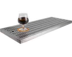 Égouttoirs de bière sur comptoir -  Raccogli-gocce non da incasso senza sciacqua-bicchieri 700 x 300 x 27 mm
