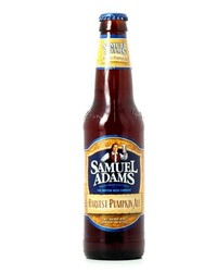 Bottled beer - Samuel Adams Harvest Pumpkin Ale