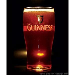 Glas Guinness plat - 50cl