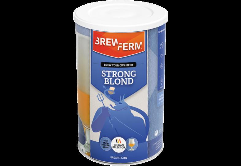 Kit à bière - Kit à Bière Brewferm Strong Blond 9 L