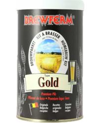 Bière classement par degrés - Kit per birra Brewferm gold
