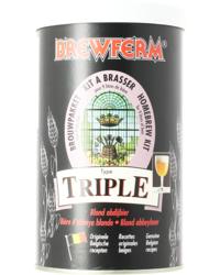 Kits de bières - Kit à bière Brewferm triple