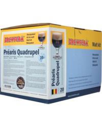 Kit ricette per tutti i grani - Kit di solo grani Brewferm Prearis Quadrupel
