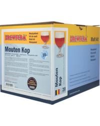 Kit de bière tout grain - Brewferm Mouten kop Vollmaische-Selbstbrausatz