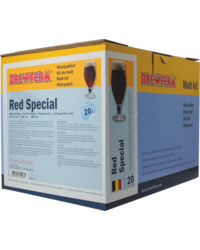 Kit de bière tout grain - kit de malt Brewferm red spécial