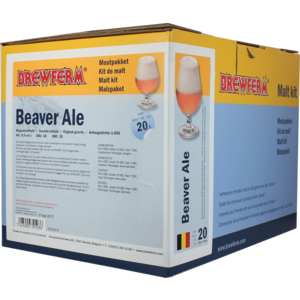 Brewferm Beaver Ale All-grain homebrew kit