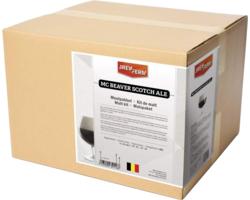 Kits de malts (Tous grain) - Brewferm Mc Beaver Scotch Ale All-grain homebrew kit