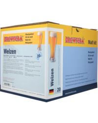Kit de bière tout grain - Brewferm Weizen Vollmaische-Set zum Selbstbrauen