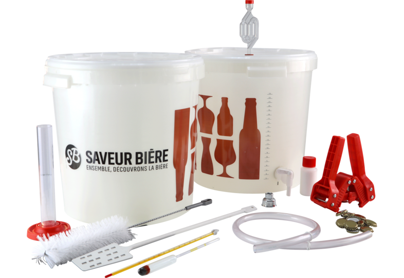 Kits de brassage - Complete Deluxe Brewing Starter Kit