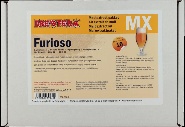 Extrait de malt - Kit estratto di malto Brewferm Furioso