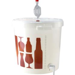 Fermentation de la bière - Seau de fermentation gradué 30L Saveur-Bière avec robinet