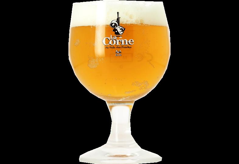 Beer glasses - Corne Du Bois des Pendus 33cl goblet glass