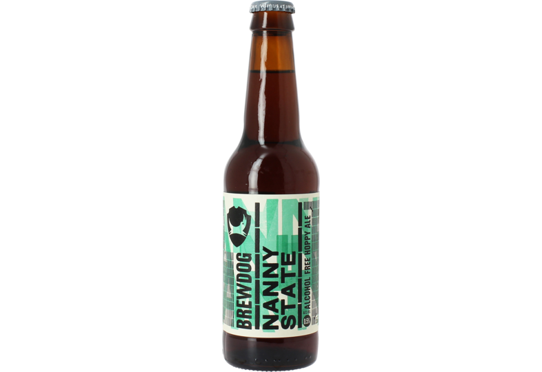 Flaskor - Brewdog Nanny State Alkoholfritt Öl