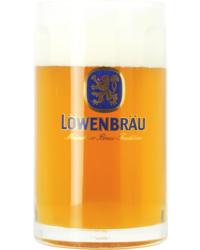 Biergläser - Glas Lowenbrau Bock