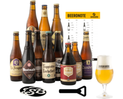 Saveur Bière gift box - The Authentic Trappist Collection