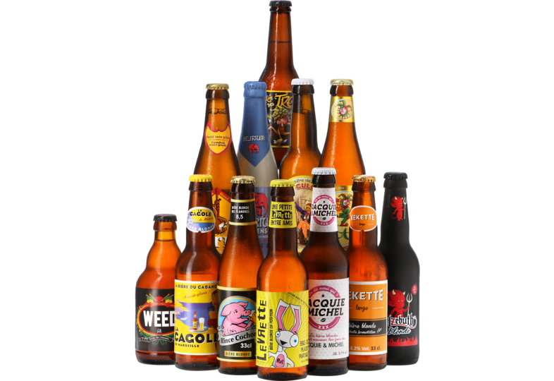 Bier packs - Grappige Bierlabels pack - 12x33cl