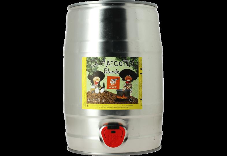 Fatöl - La Mascotte Blonde 5 litre Standard Keg Ölfat