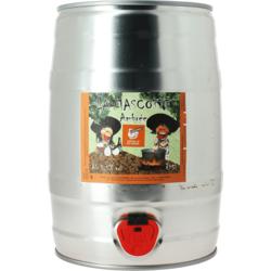 Fûts de bière - Fût 5L La Mascotte Ambrée