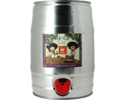 Fusti di birra - Fusto 5L La Mascotte Dubbel