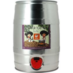 Fûts de bière - Fût 5L La Mascotte Dubbel