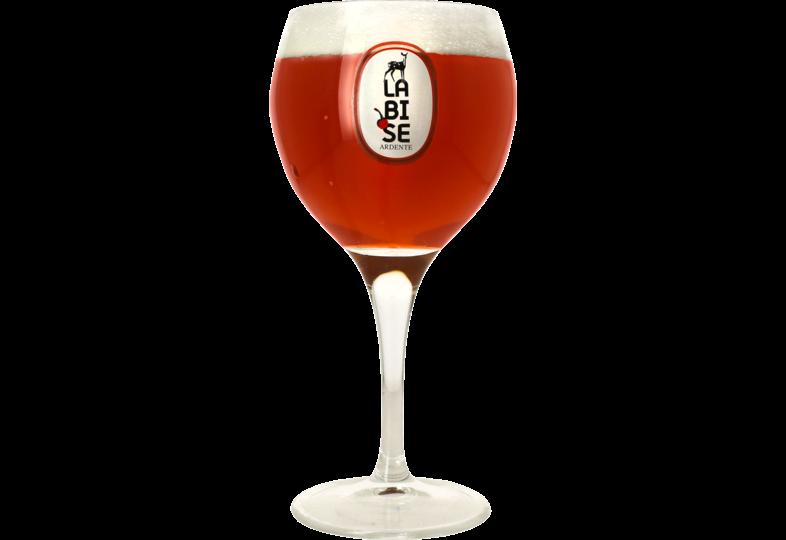 Verres à bière - Verre Jenlain La Bise Ardente - 25 cl