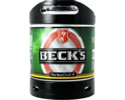 Fûts de bière - Fût 6L Beck's