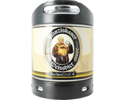 Barriles - Barril Franziskaner Weissbier PerfectDraft 6 L