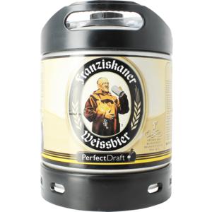 Fusto Franziskaner Weissbier PerfectDraft 6 L