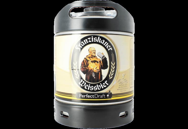 Bier Tapvatjes - Franziskaner Weissbier PerfectDraft Vat 6L