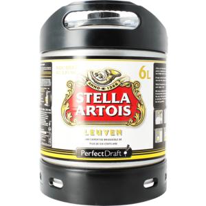 Barril Stella Artois PerfectDraft 6 L