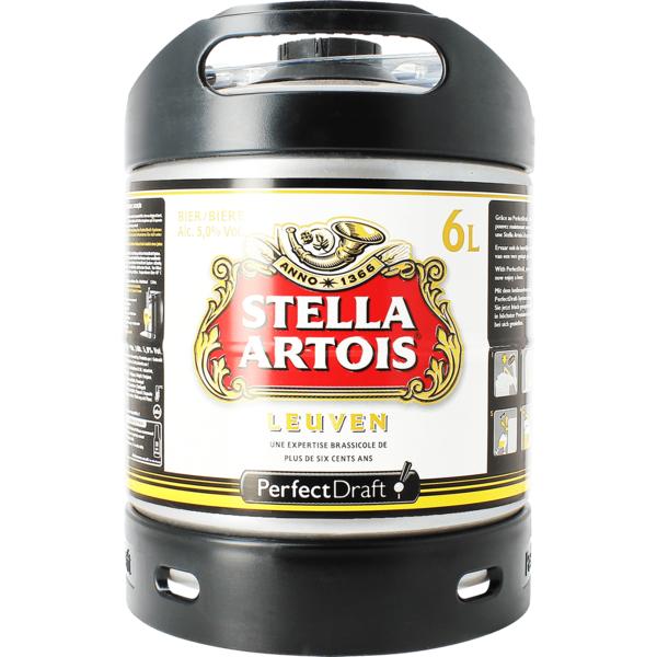 Tapvaatje 6L Stella Artois Perfect Draft
