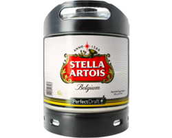 Kegs - Stella Artois 6L PerfectDraft Fat