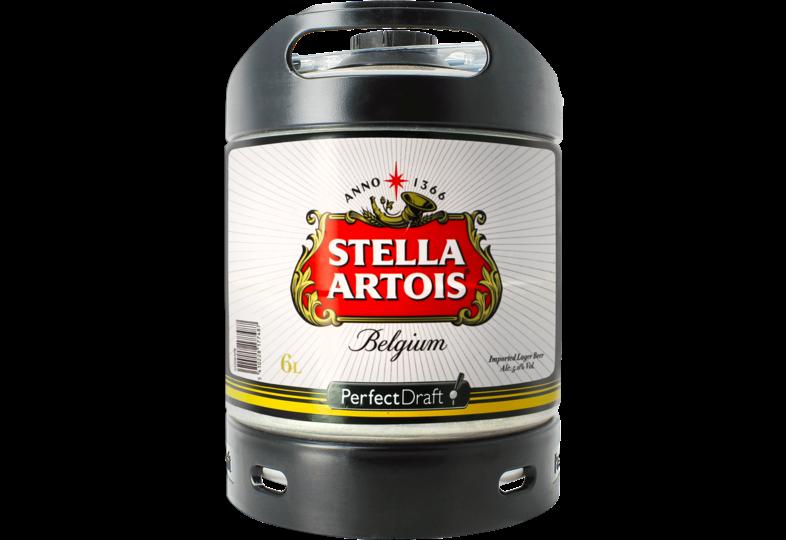 Bier Tapvatjes - Stella Artois PerfectDraft Vat 6L